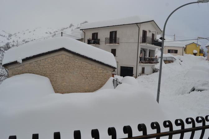 La nevicata del 2012